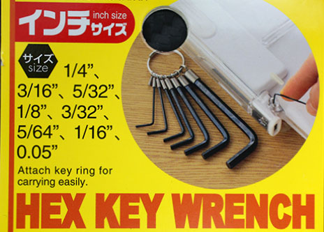 HEX KEY WRANCH