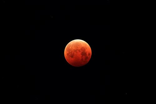 10月8日 皆既月食