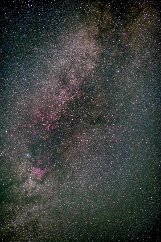 HDRによる夏の天の川