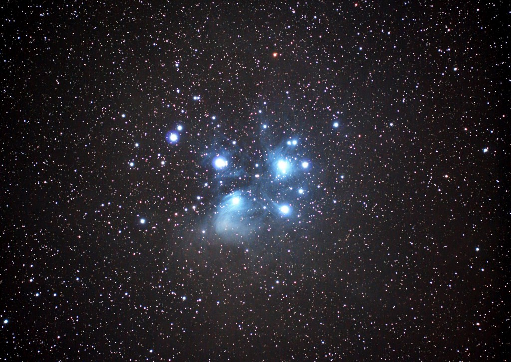 M45 プレアデス星団 (TP-2)